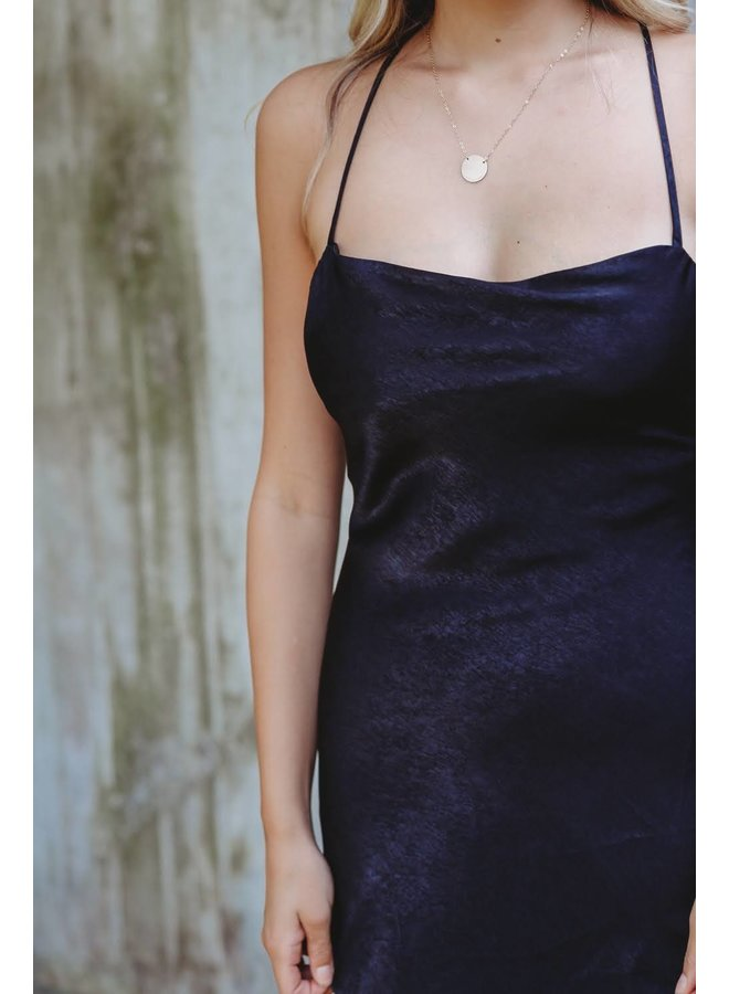 Clara Satin Nightgown Dress