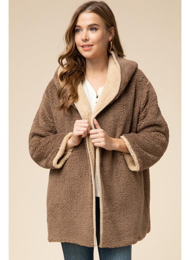 Reversible Teddy Coat