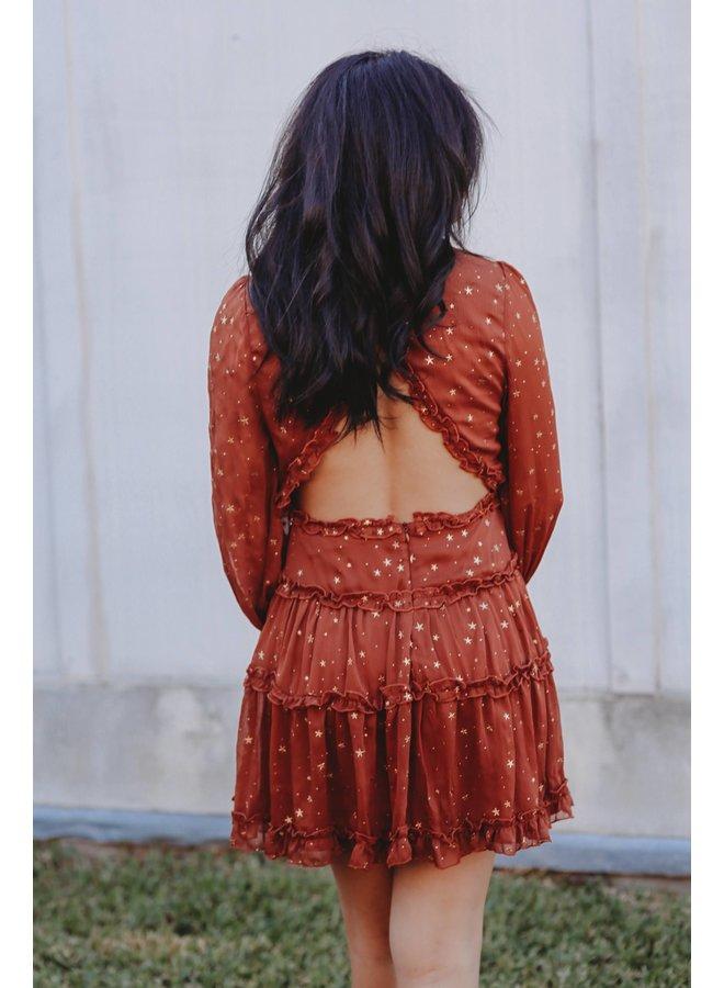 Bronze Star Dress