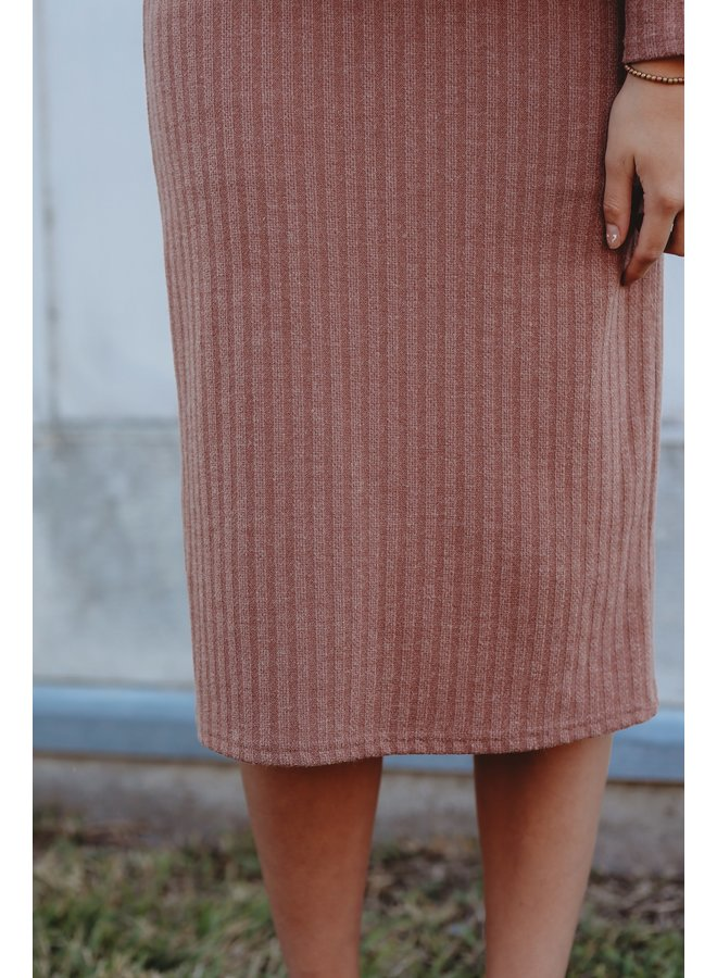 Rose Knit Skirt
