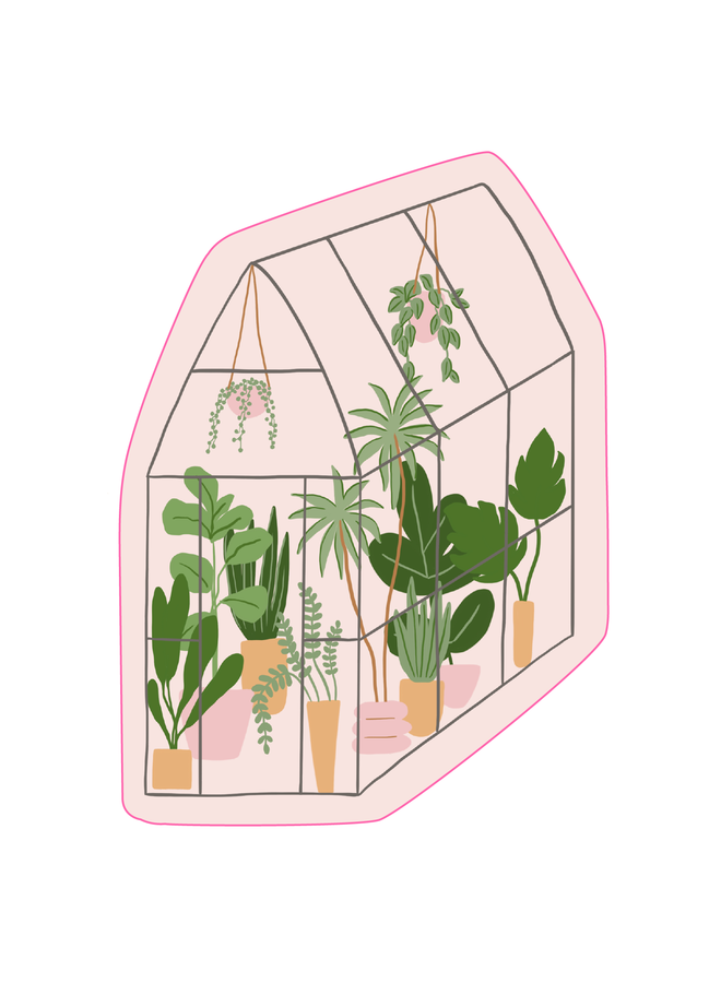 Greenhouse Sticker