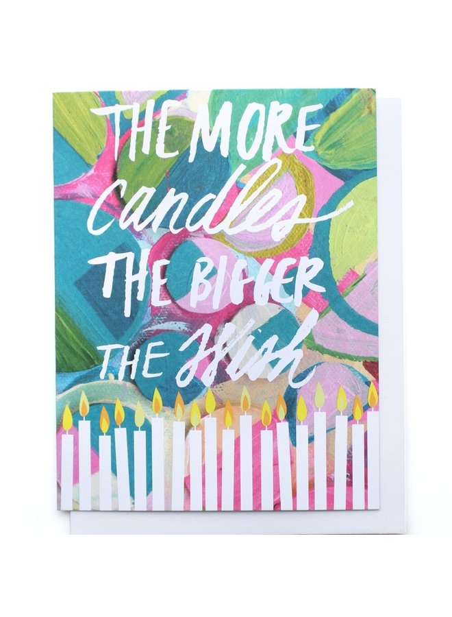 More Candles Single Card