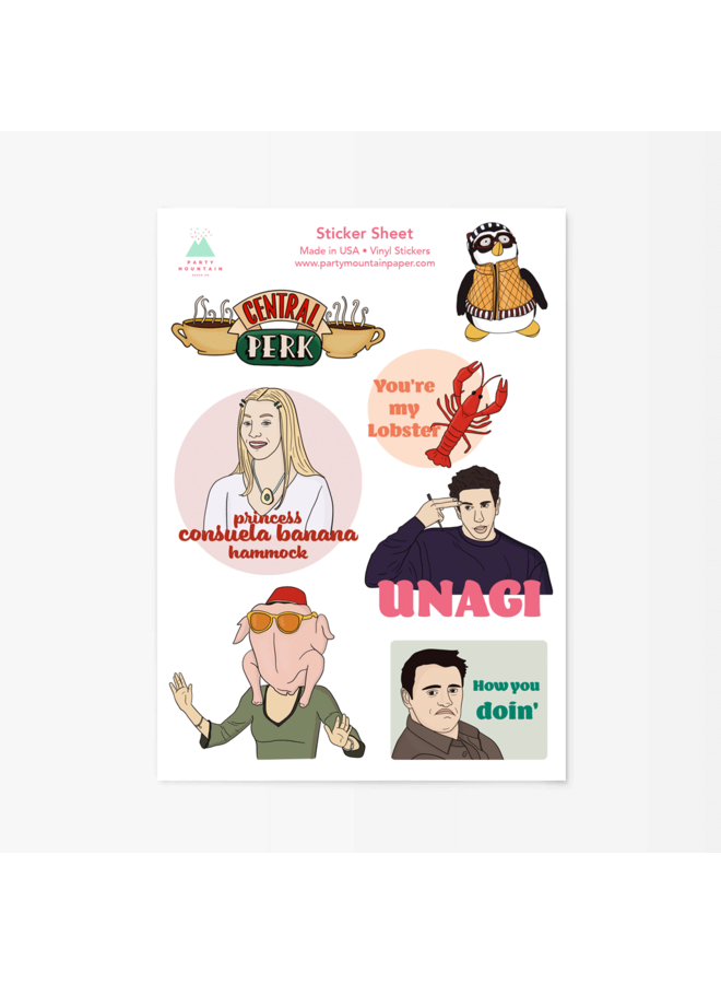 Friends Sticker Sheet