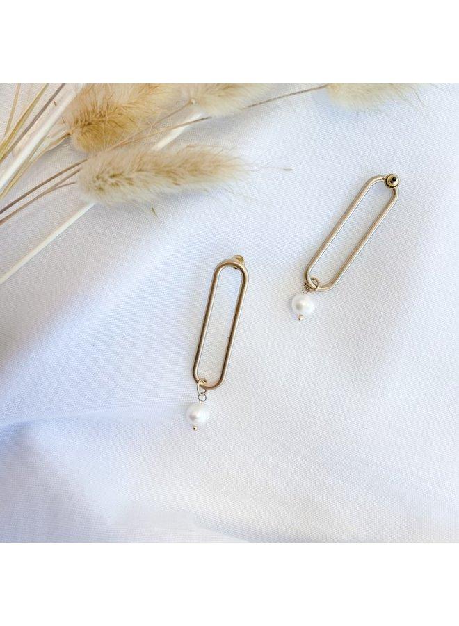 Iris Drop Earrings