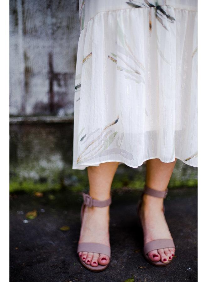 Floral Midi Sleeveless Dress