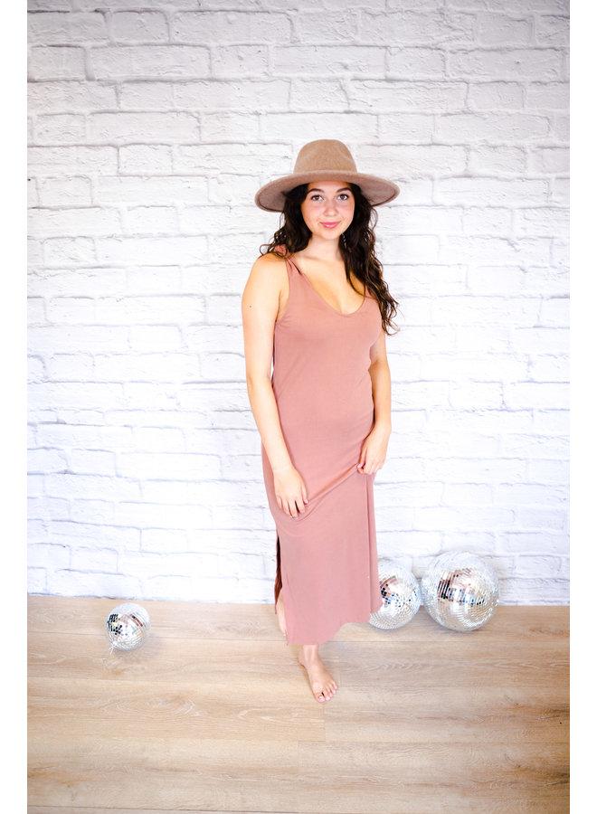 Sienna Ribbed Knit Dress