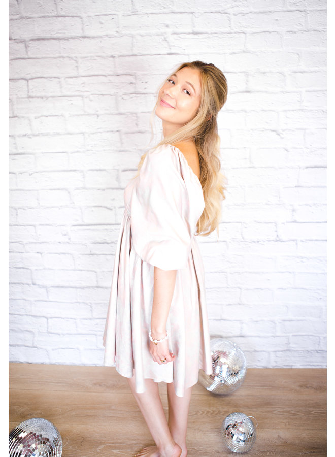 Cotton Candy Babydoll Dress