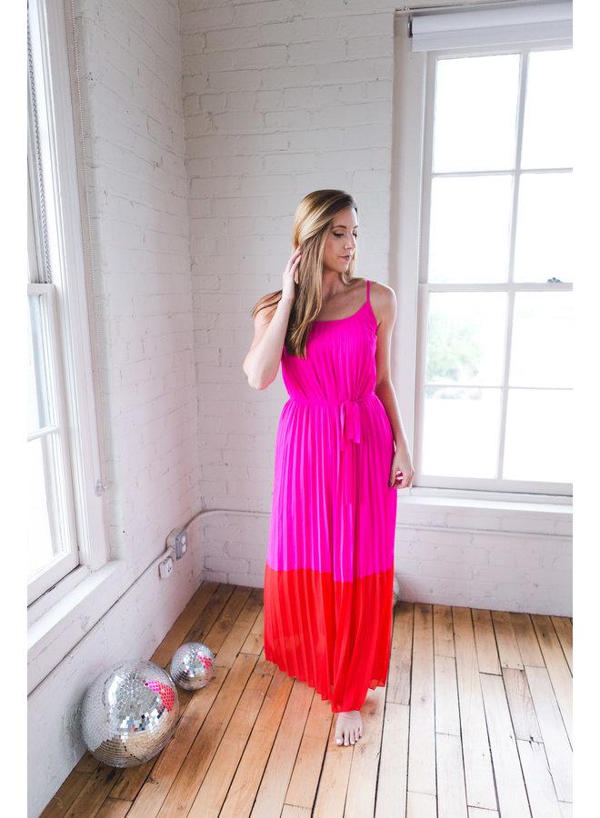 Hot Pink/Red Dress