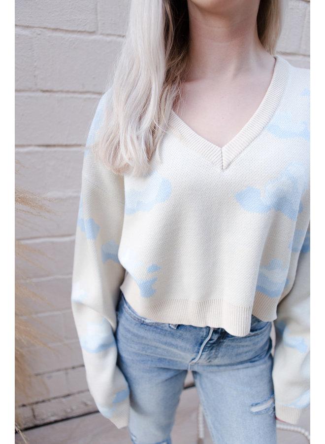 Ivory Cloud Sweater