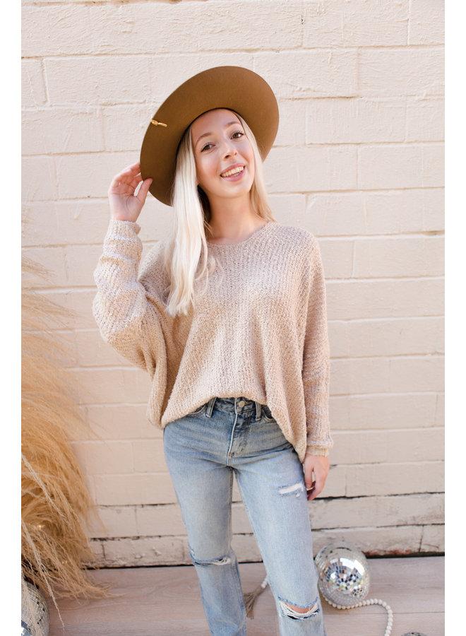 Brushed Oversized Sweater