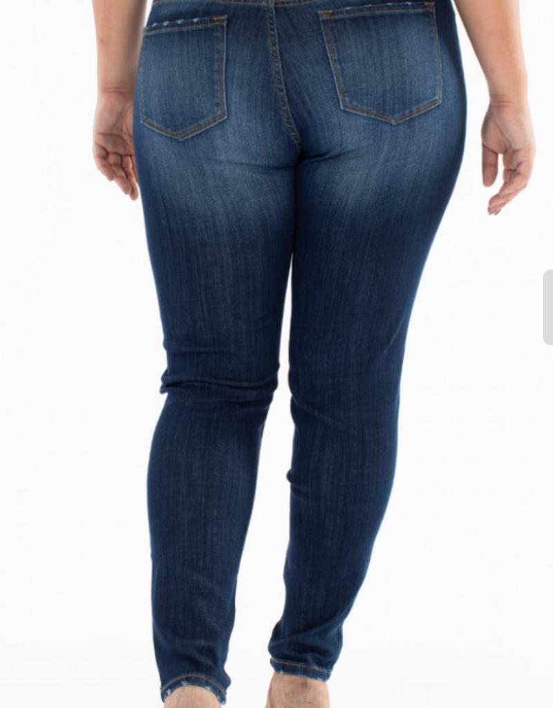 Kancan Mandy non distress skinny jeans- Kancan
