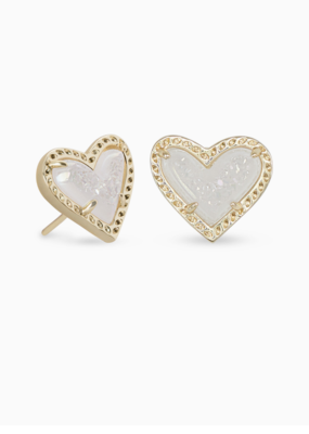 Kendra Scott Ari Heart Earrings