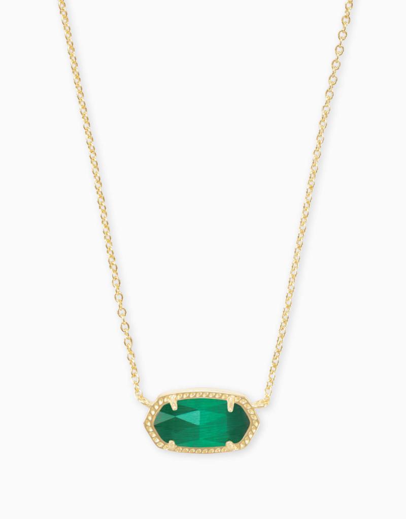 Kendra Scott Elisa Gold Necklace Colored Stones