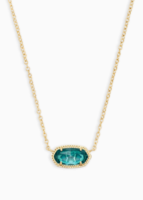 Kendra Scott Elisa Gold Necklace Colored Stones