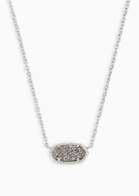 Kendra Scott Elisa Silver Necklace with different Stones