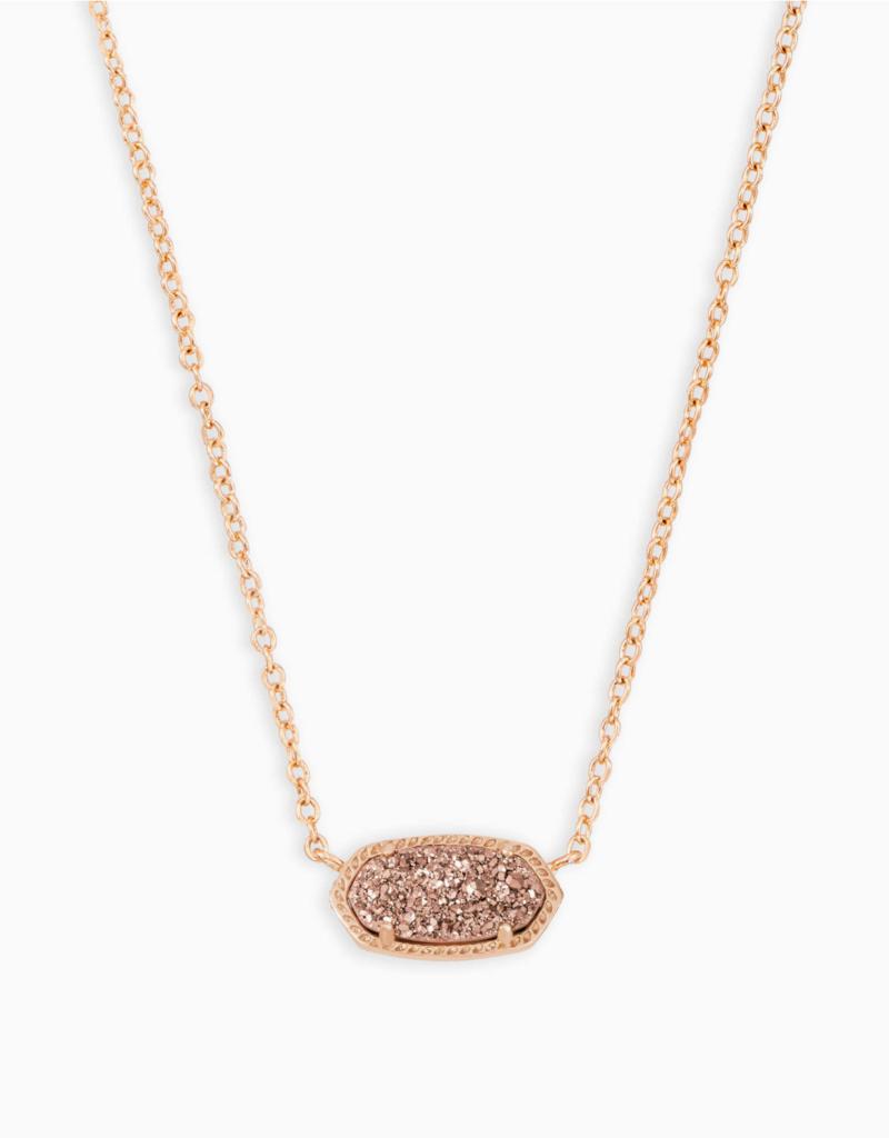 Kendra Scott Elisa Rose Gold Necklace in different Stones