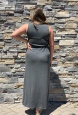 Red Door Tank wrap maxi dress