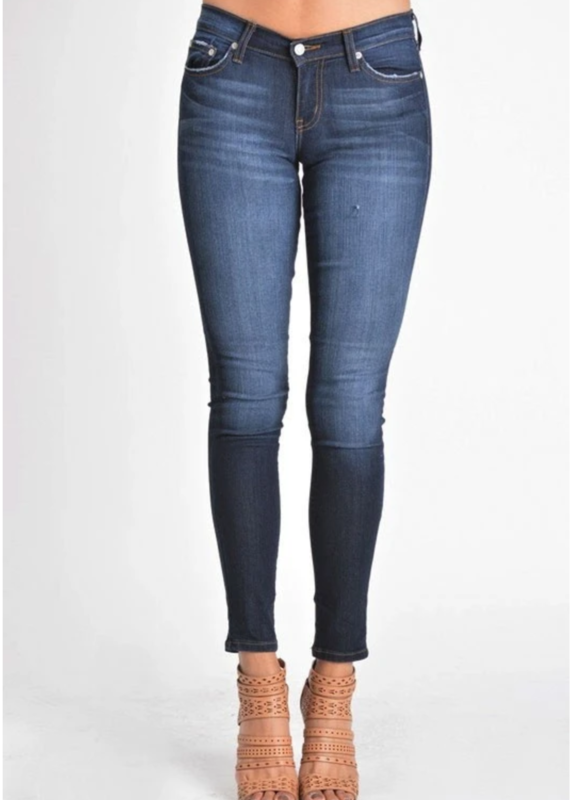 Judy Blue Josie's dark skinny jeans