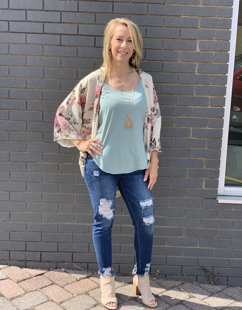 Red Door Hollie's distressed ankle skinny jean