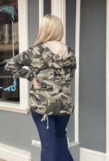Red Door Camo utility jacket
