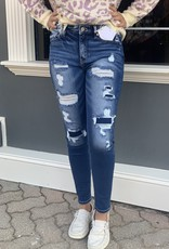 Kancan Everly distressed skinny jean