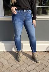 Kancan Tanya's fray hem skinny jean
