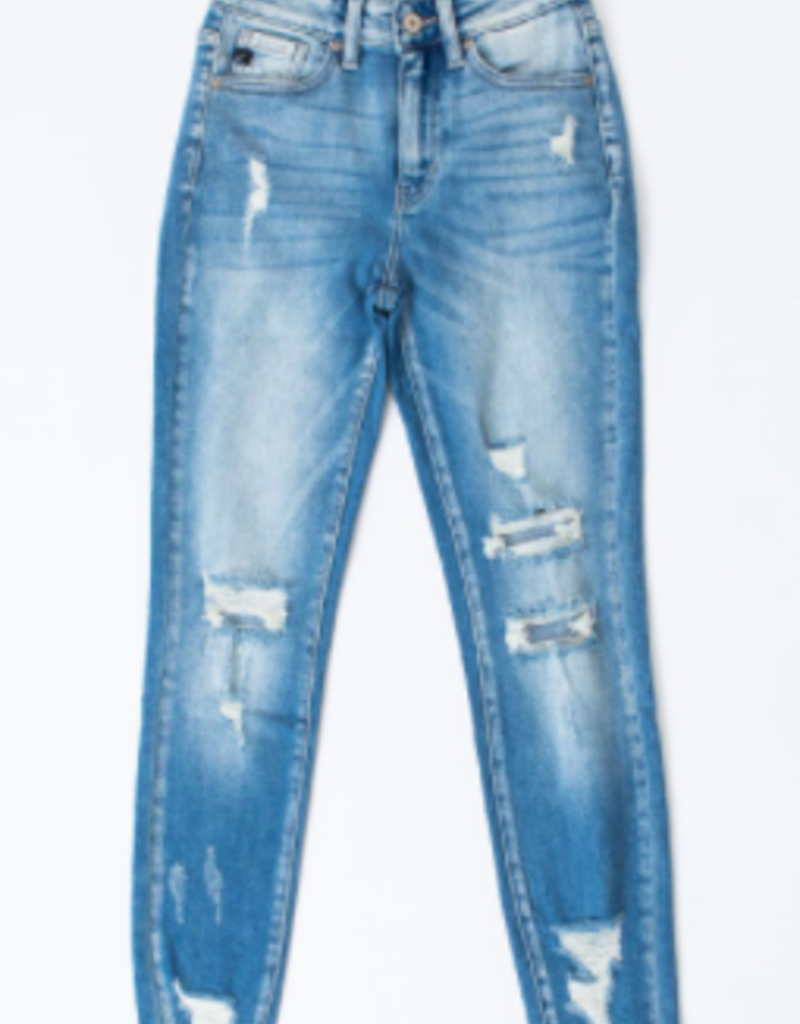 Red Door Tilly's distressed jeans - KanCan