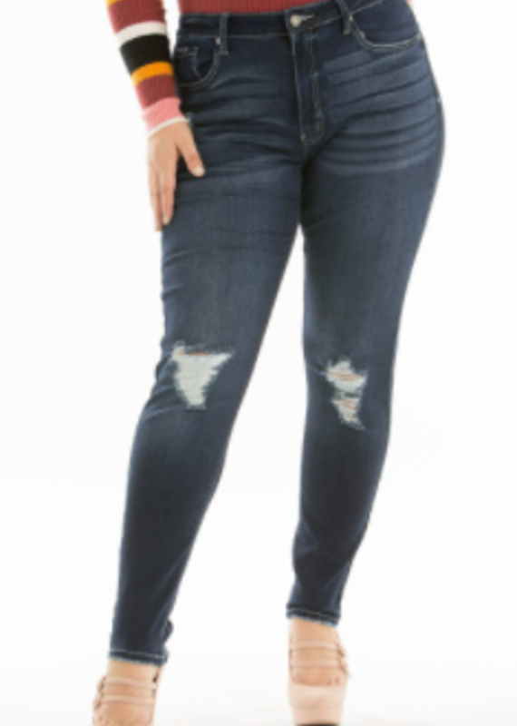 Red Door Shelley's high rise skinny jeans - KanCan