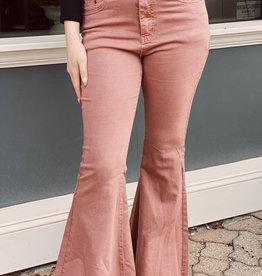 Red Door Bell bottom colored pants