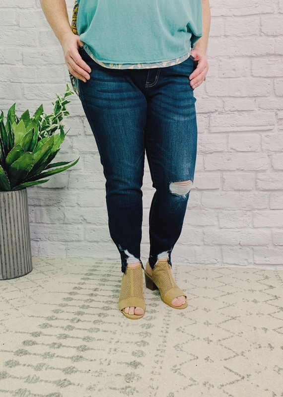 Kancan Naomi's high rise ankle skinny jean-KanCan