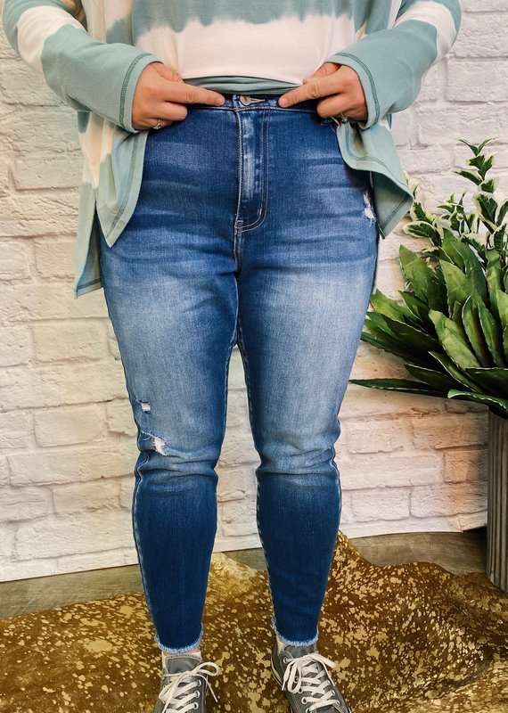 Kancan Audrey's high rise skinny jeans