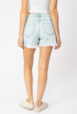 Kancan Cindy's light wash shorts