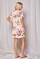 Red Door Blush floral dress
