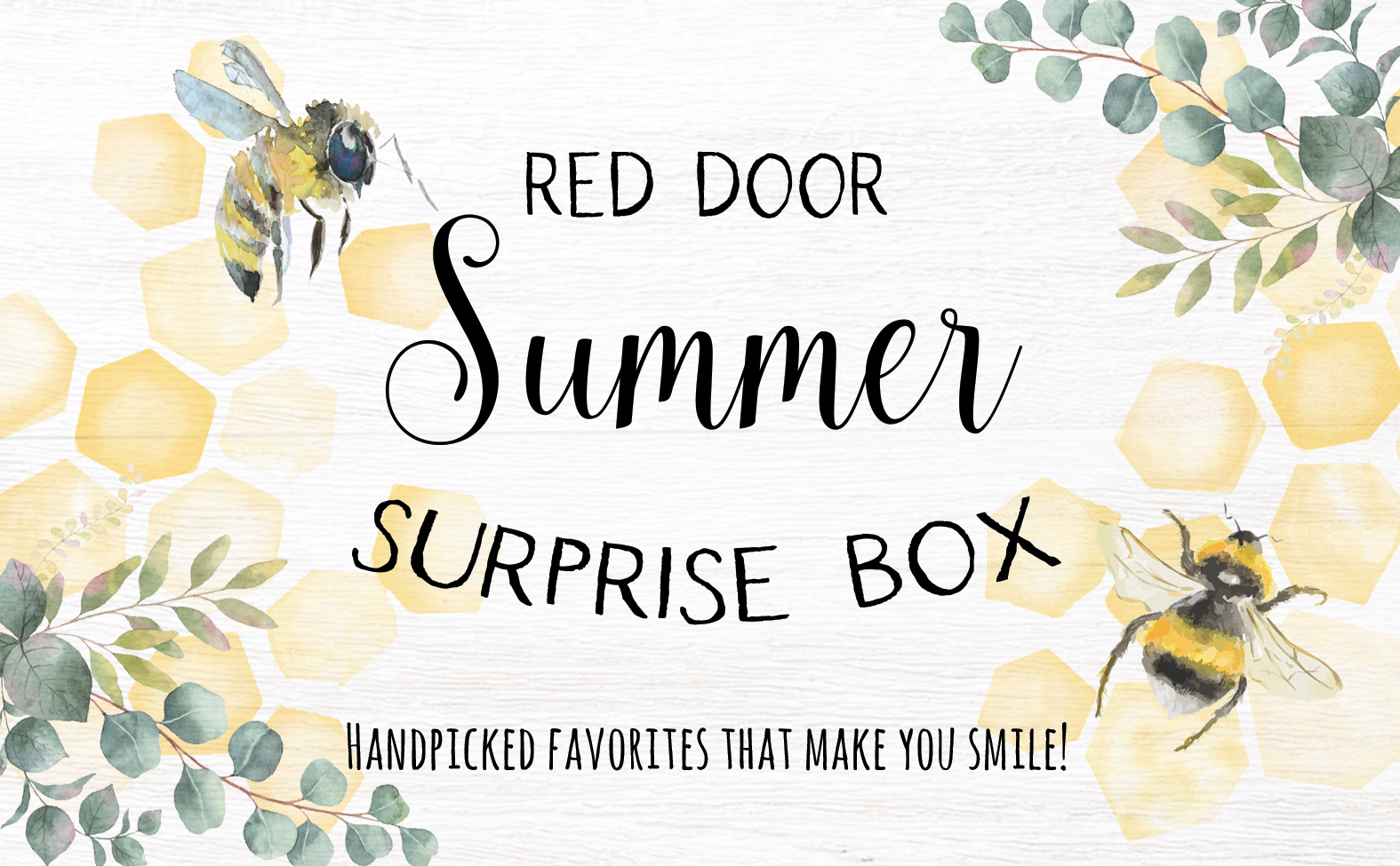 Red Door Surprise boxes!