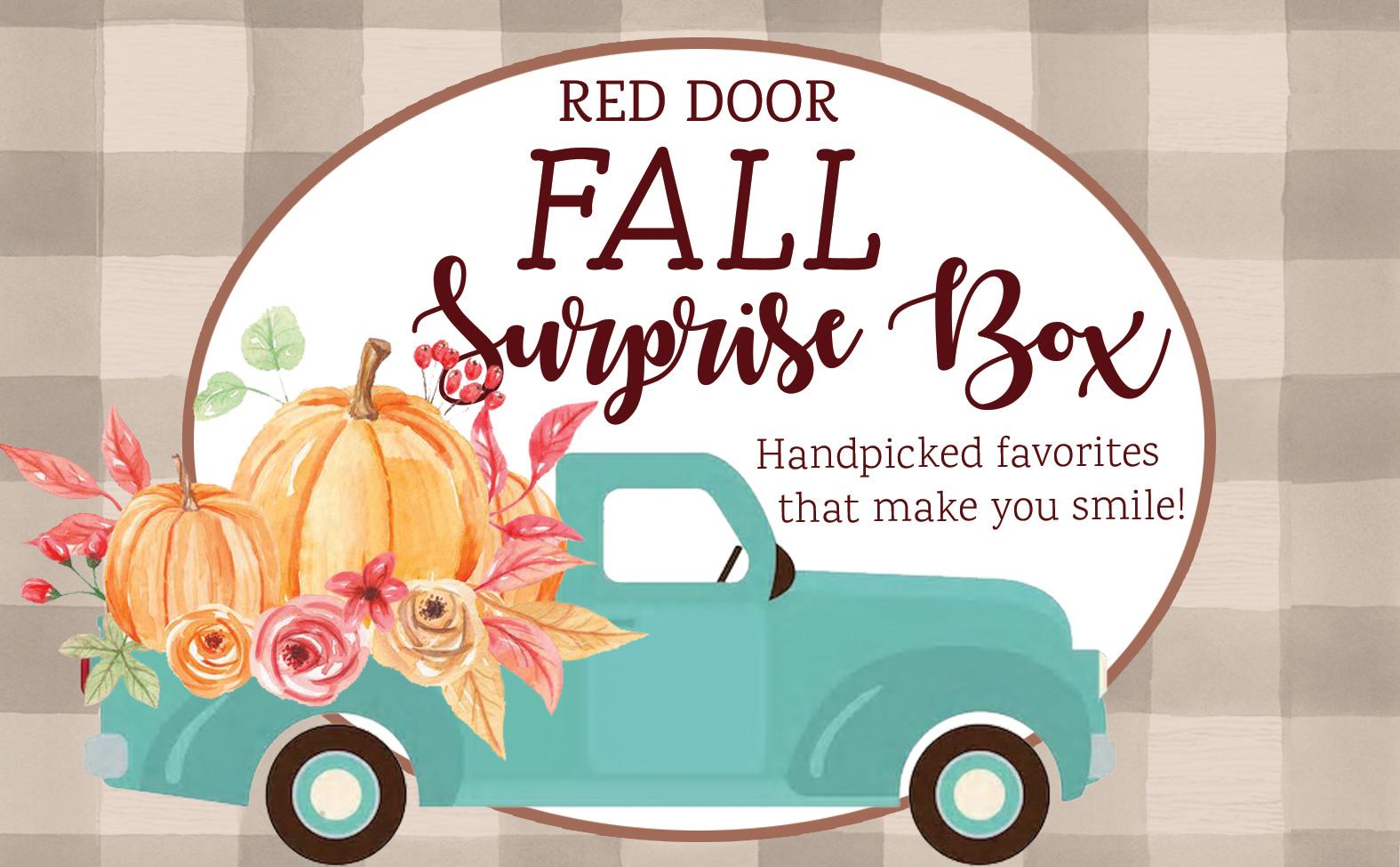 Red Door Surprise boxes!