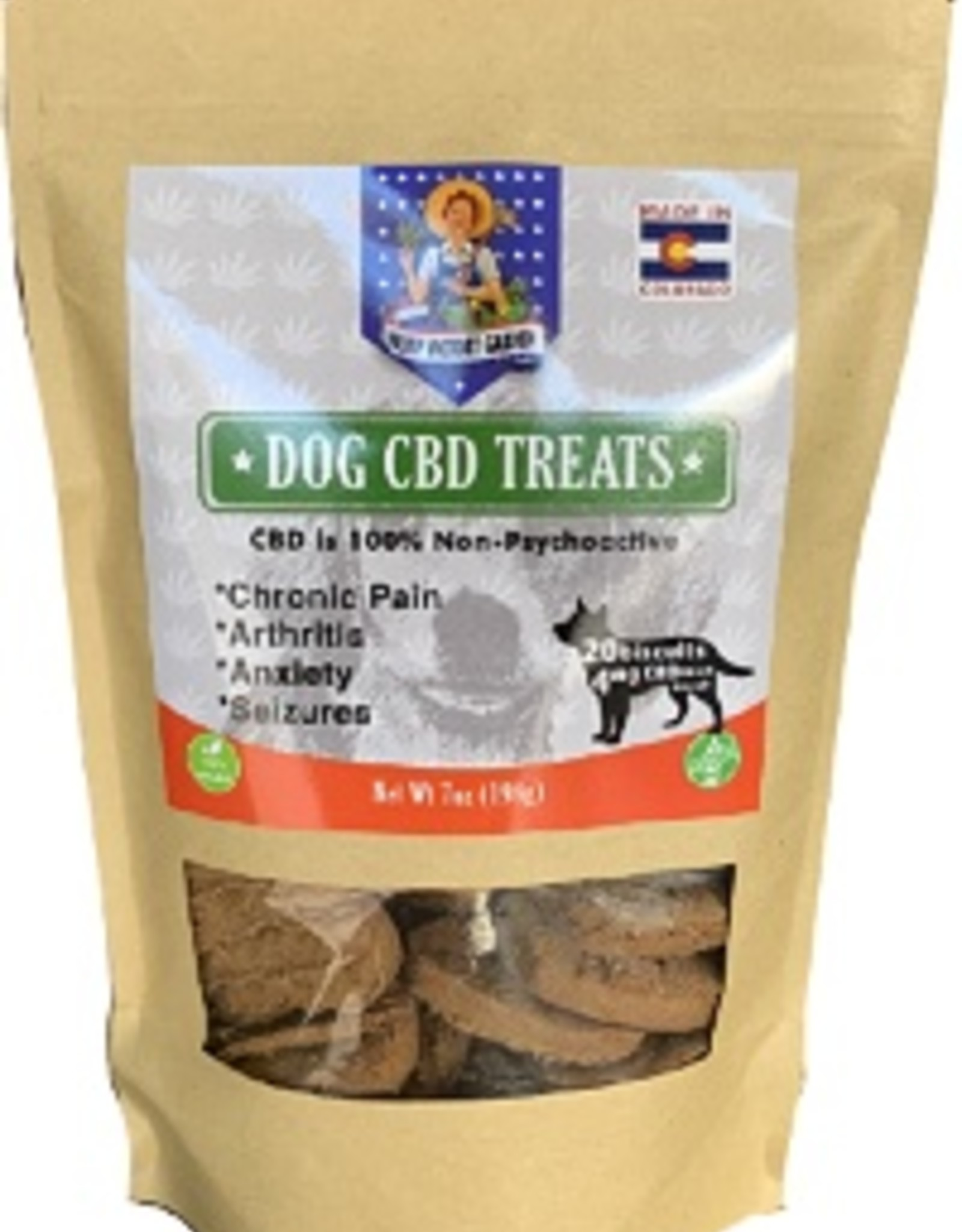 Hemp Victory Garden Dog CBD Treats