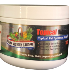 Hemp Victory Garden Topical Ointment (250mg, 500mg, 1000mg)