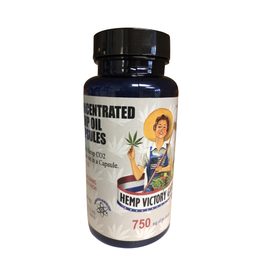 Hemp Victory Garden Concentrated Hemp Oil Capsules