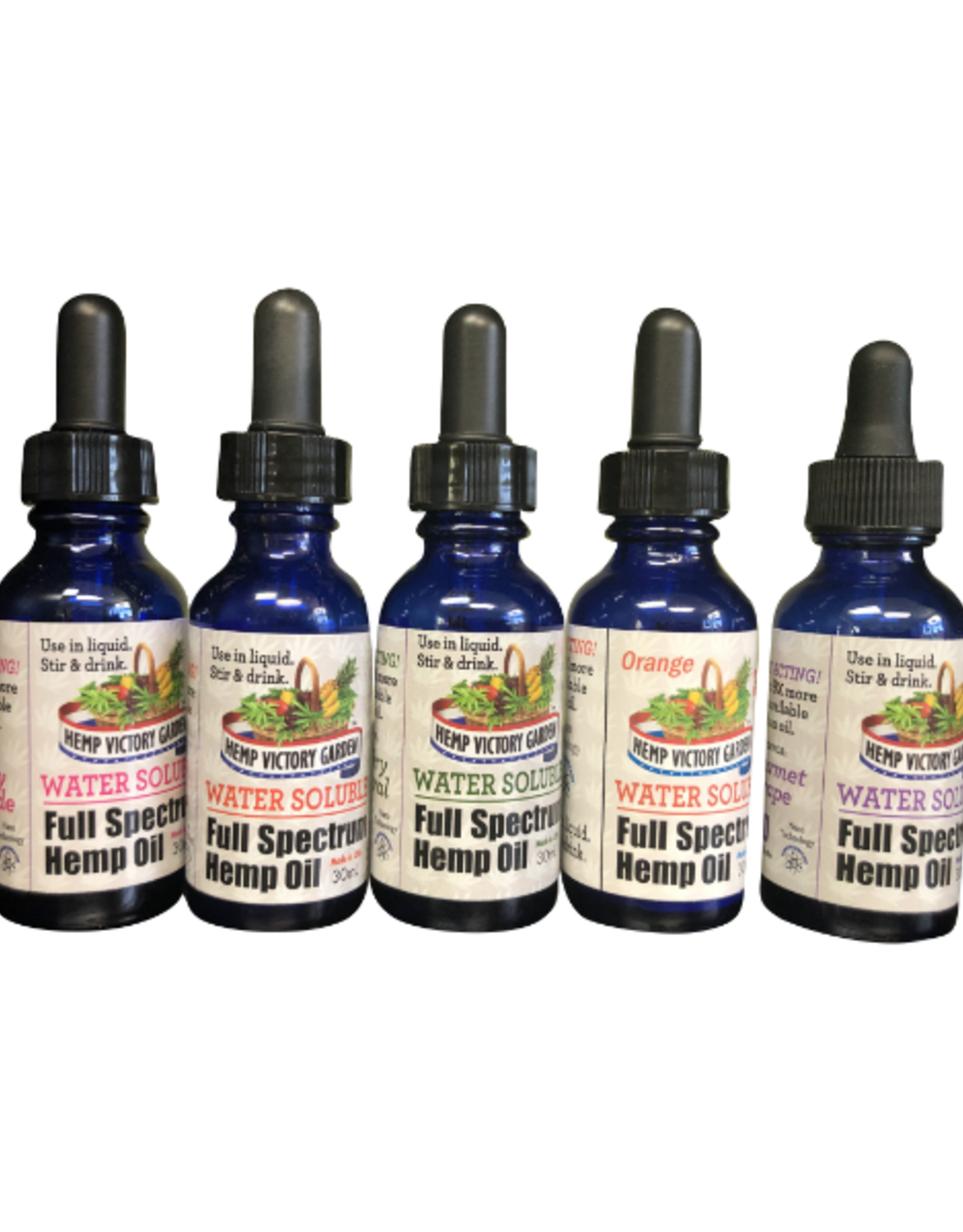 Hemp Victory Garden Water Soluble - Full Spectrum Hemp Oil