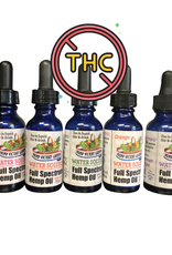 Hemp Victory Garden Water Soluble - Full Spectrum THC Free