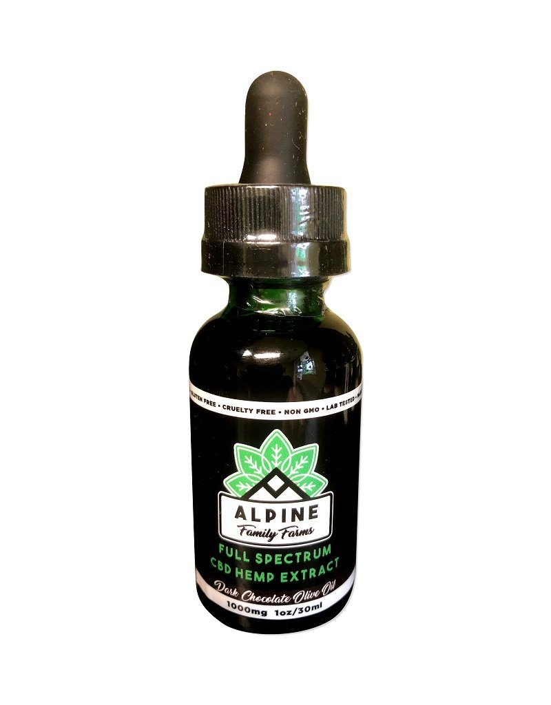Alpine Family Farms Alpine Full Spectrum 1000mg