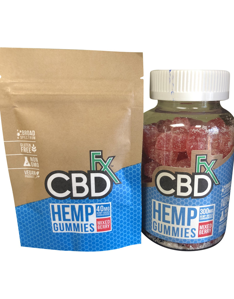 CBD Fx CBD Fx Gummies - Mixed Berry
