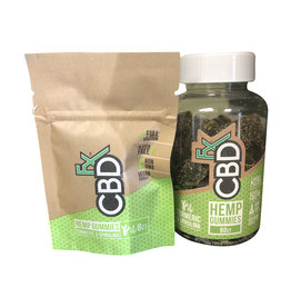 CBD Fx CBD Fx Gummies - Turmeric & Spirulina