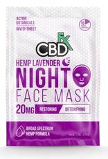 CBD Fx Face Mask - Hemp Lavender