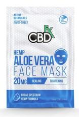 CBD Fx Face Mask - Hemp Aloe Vera