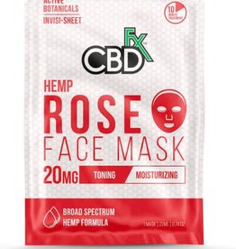 CBD Fx CBD Fx Face Mask - Hemp Rose