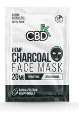CBD Fx Face Mask - Hemp Charcoal