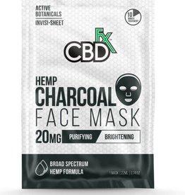 CBD Fx Face Mask - Hemp Charcoal