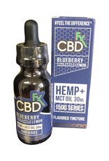 CBD Fx CBD Fx Hemp Oil Tincture 1500 - Blueberry Pineapple