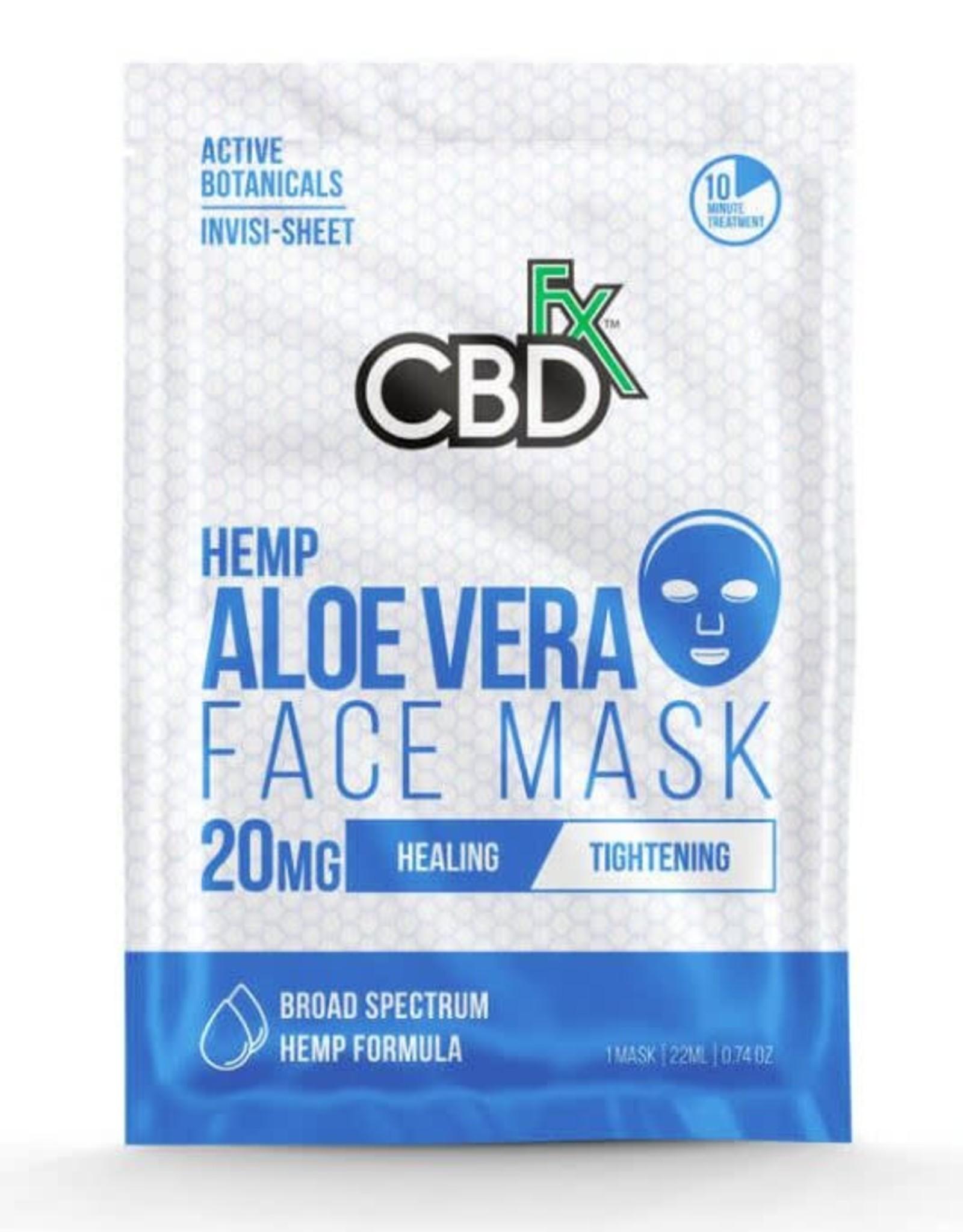 CBD Fx CBD Fx Face Mask - Hemp Aloe Vera